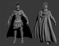 로마 병사(노말맵용 하이폴)