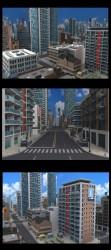 도시입니다.