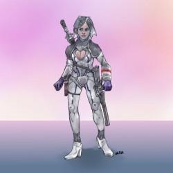 여성 캐릭터 zz