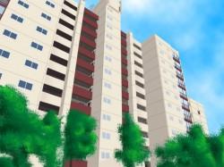 아파트 풍경